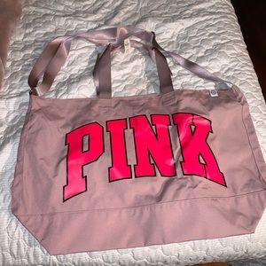 PINK Tote Crossbody Bag